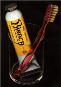 Vintage French Toothpaste Advertising Poster